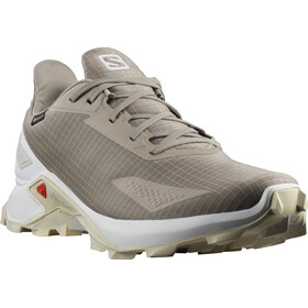 Salomon Alphacross Blast GTX Shoes Men vintage kaki/white/lunar rock